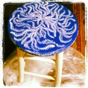 My painted Stool