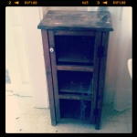Old Potato cabinet