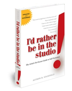 book I would rather be in  the studio