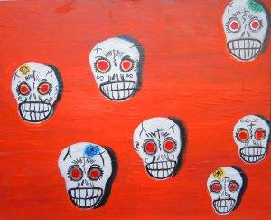 """Pretty Skulls1 18"""" x 22"""""""