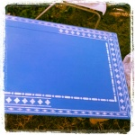 The Table in Blue
