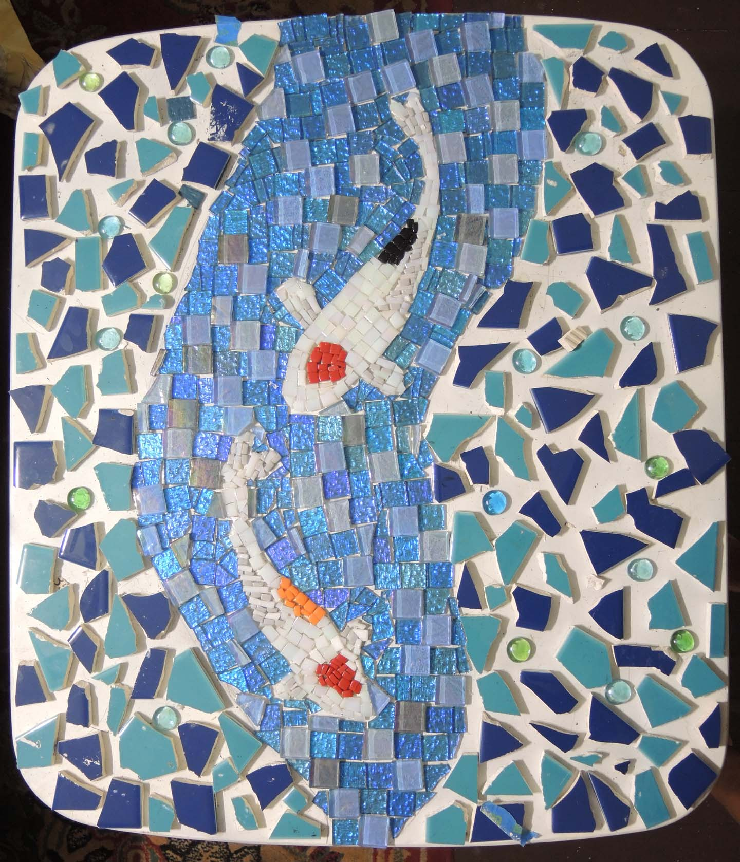 ordinary Koi Mosaics Part - 4: The Beauty. u201c