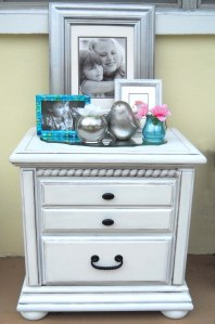 The White Side Table