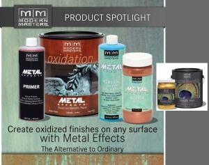 Modern Masters Metal Effects Kit