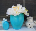 Turquoise Vase in my Etsy shop