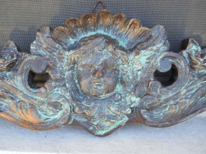 My Verdigris Cherub. I just found out what that means
