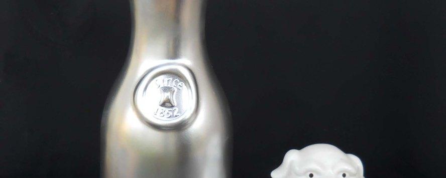 Silver Metallic Carafe