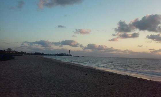 Beautiful Beach morning see you tomorrow